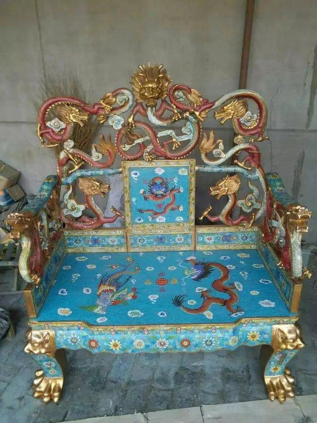 鎏金景泰蓝(图)、鎏金景泰蓝工艺品、自贡鎏金景泰蓝