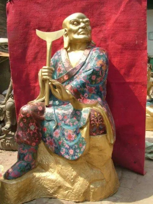 铸造铜十八罗汉|襄樊十八罗汉|十八罗汉