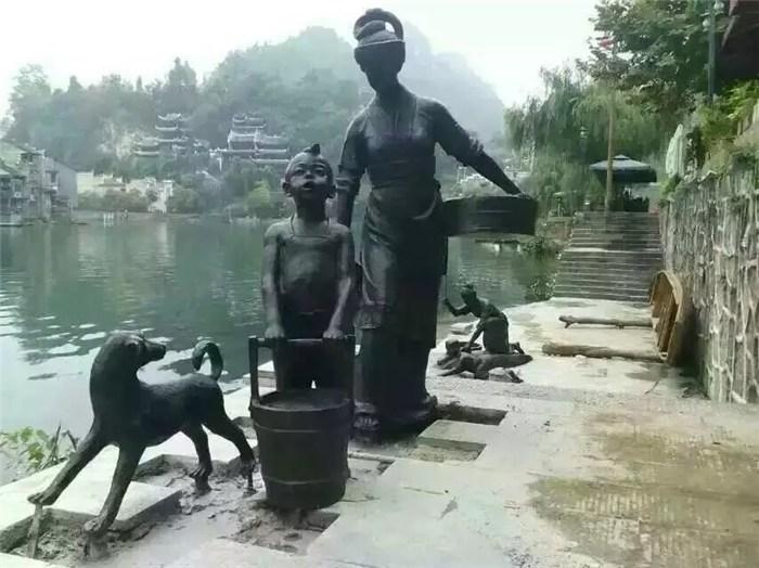 雕塑制造厂|绵阳雕塑|天顺雕塑