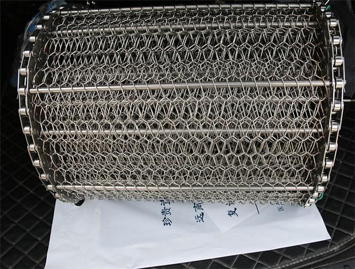 耐灼烧不锈钢输送网带销售
