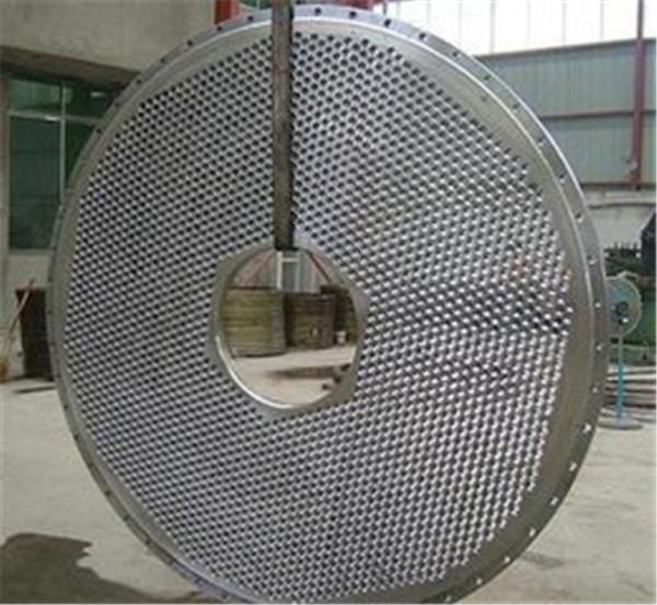 打孔焊接管板 蕪湖管板 超翔管件(查看)