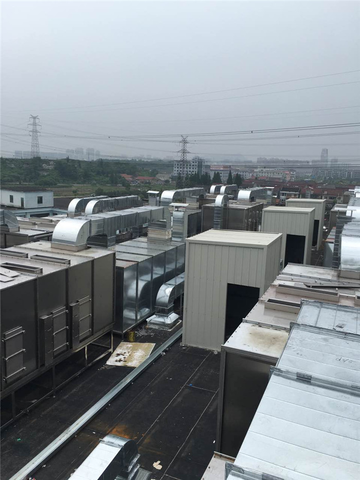 亞特蘭通風設備 工廠白鐵通風管道工程安裝