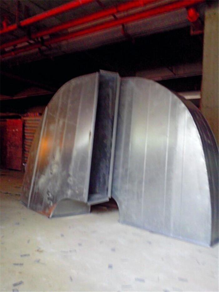 廚房白鐵通風管道工程安裝 亞特蘭通風公司