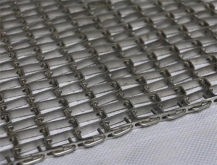 垃圾烘干机网带-潍坊烘干机网带-蒸煮链条传送带(查看)