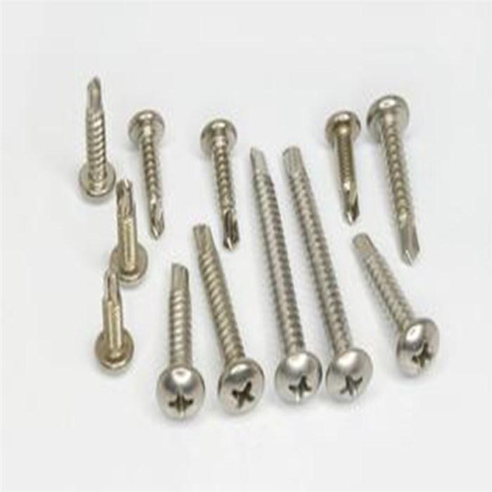 非标不锈钢盘头钻螺尾钉厂家、不锈钢燕尾钻尾螺钉、辽宁钻尾螺钉