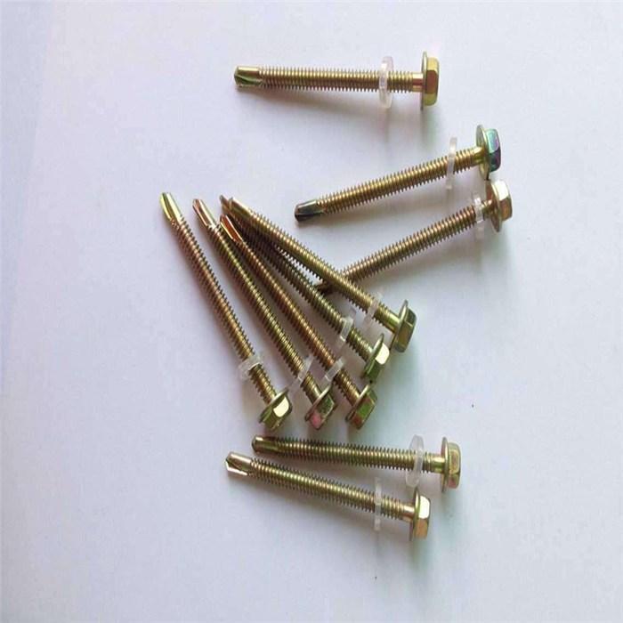 六角头钻尾螺钉,镀锌钻尾螺钉(在线咨询),钻尾螺钉