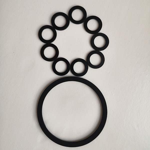 三元乙丙密封垫圈规格尺寸 氟胶密封垫圈批发 晨光橡塑