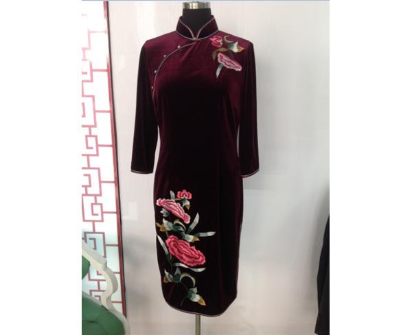 旗袍厂家,合肥旗袍,合肥美合服饰公司