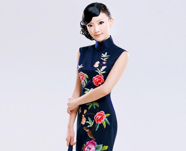 旗袍连衣裙,合肥旗袍,合肥美合厂家(查看)
