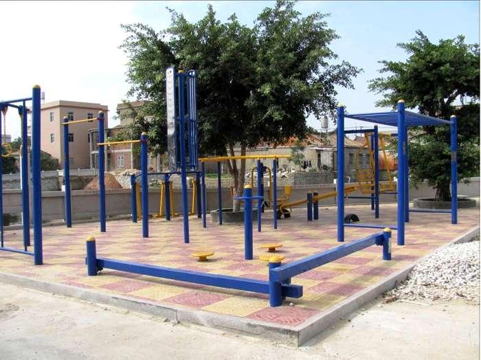 室外健身路径器材,强森体育,健身路径