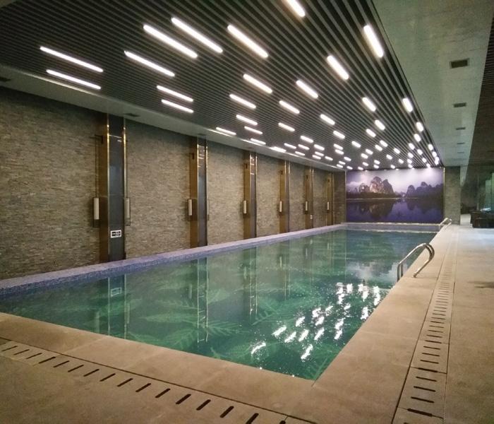 秀英区泳池、超速环保、泳池水处理设备