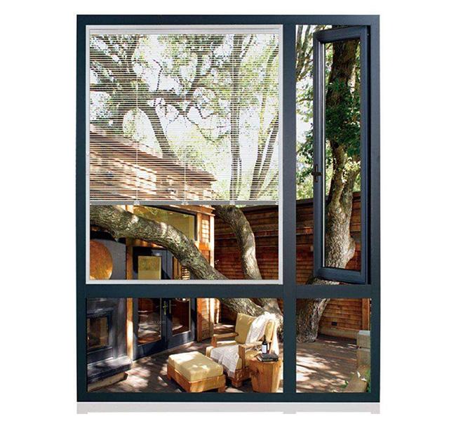 平开窗样板、平开窗、粤人铝材(查看)
