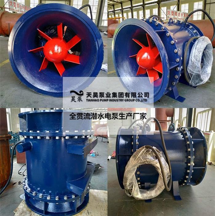 QGWZ全贯流潜水电泵卧式安装销售