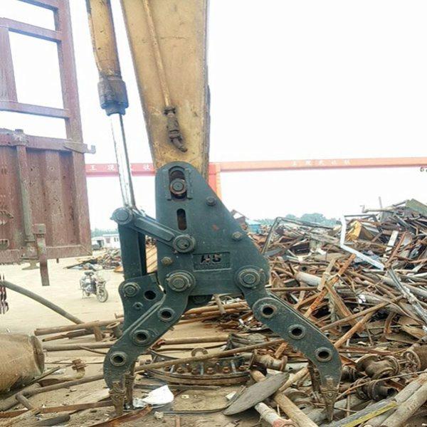 鸿工机械 废钢抓斗哪家好 挖掘机废钢抓斗报价 五爪废钢抓斗报价