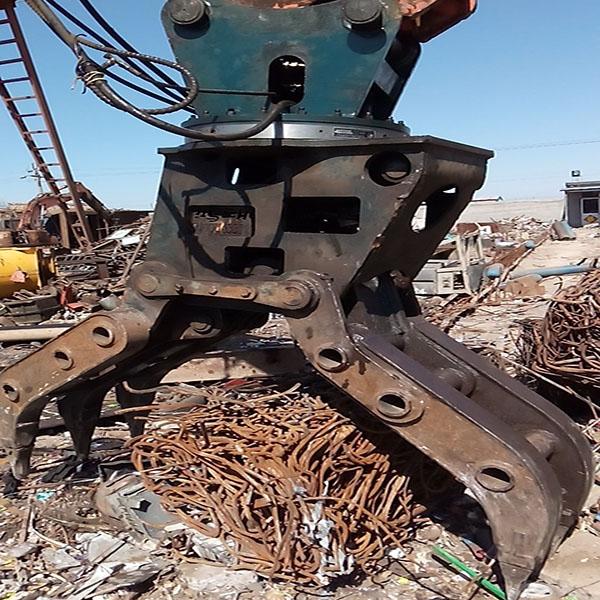 鸿工机械 挖掘机抓斗机多少钱一台