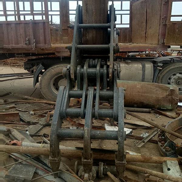 废钢抓斗报价 鸿工机械 挖掘机废钢抓斗多少钱一台