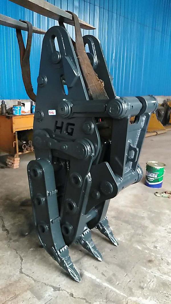 抓木器-山东鸿工机械-钩机抓木器
