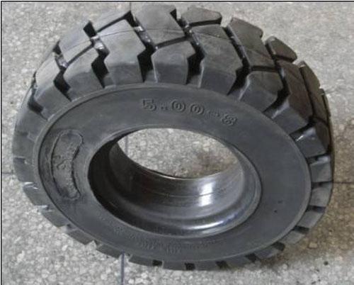铲车实心轮胎图片/铲车实心轮胎样板图 (1)