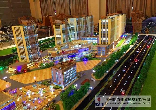 晋江模型、福州川海建筑模型、建筑模型设计