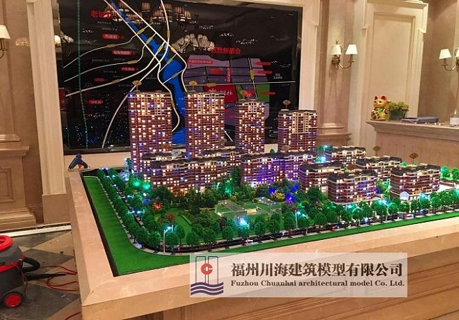 福州建筑模型_福州沙盘模型设计_模型设计