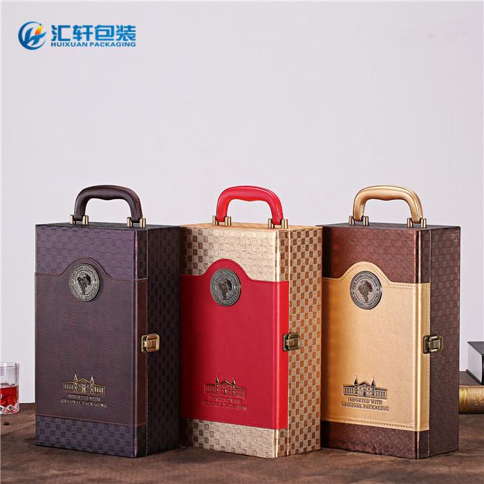 木质红酒礼盒,红酒礼盒,汇轩包装盒值得推荐(查看)