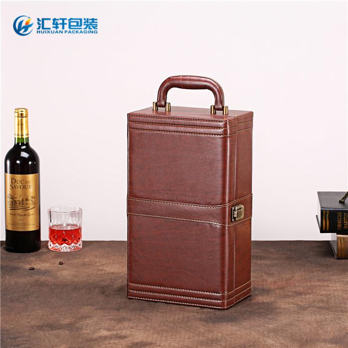 单支红酒礼盒,汇轩包装盒现货供应,红酒礼盒