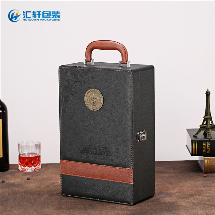 双支装红酒礼盒_红酒礼盒_汇轩包装盒优质供应商(查看)