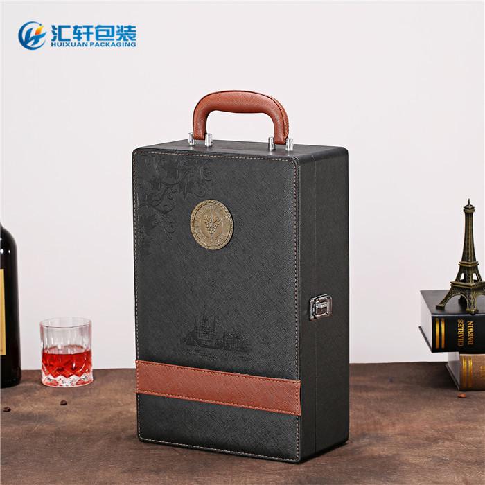 汇轩包装盒质量有保证(图),葡萄酒盒加工,葡萄酒盒