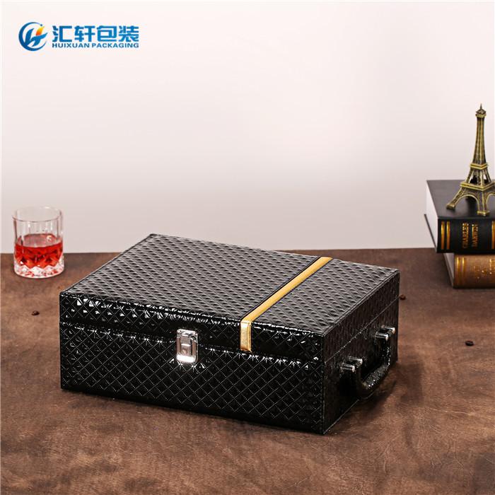 新款红酒礼盒,汇轩包装(在线咨询),红酒礼盒