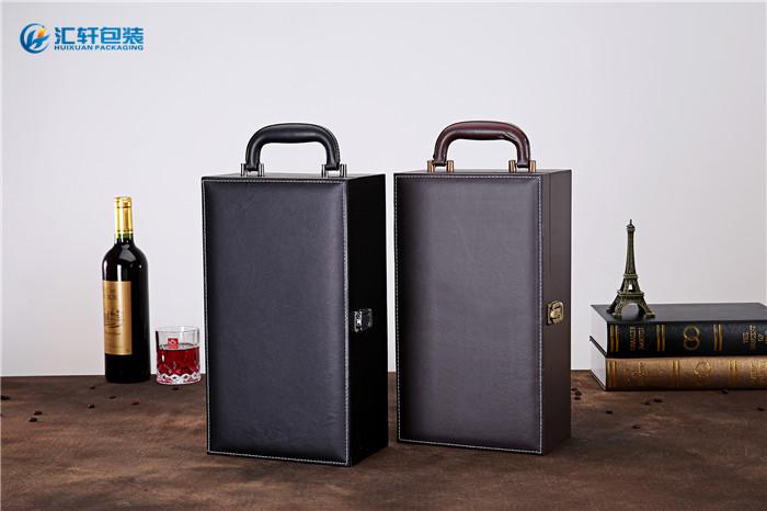 汇轩包装荣誉之选(图)、皮质红酒礼盒、红酒礼盒