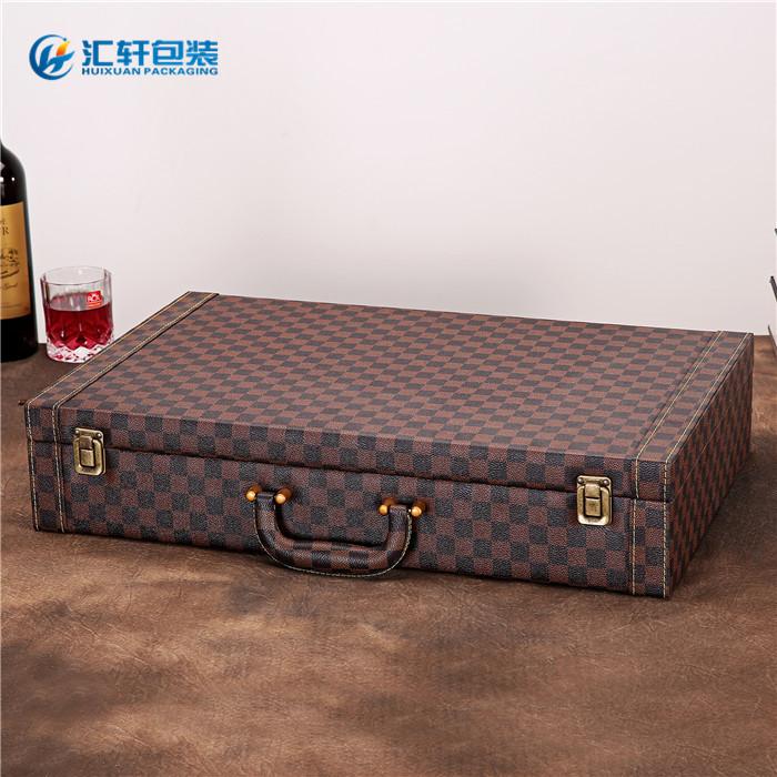 红酒礼盒6只装,汇轩包装(在线咨询),红酒礼盒