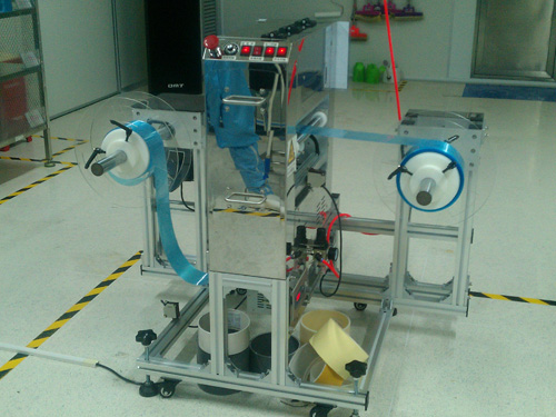 自动卷材除尘机、伟盟、清洗清理设备、自动卷材除尘机公司