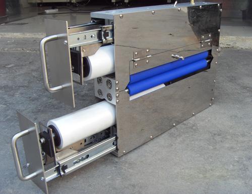 偏光片除尘机定做,伟盟、光学膜片两用除尘机,偏光片除尘机