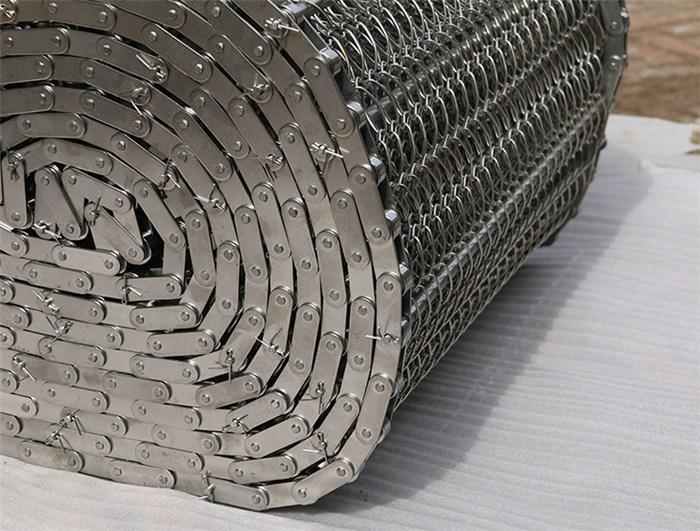 链轮驱动链条网带|福建链条网带|金属链条网带厂家(查看)