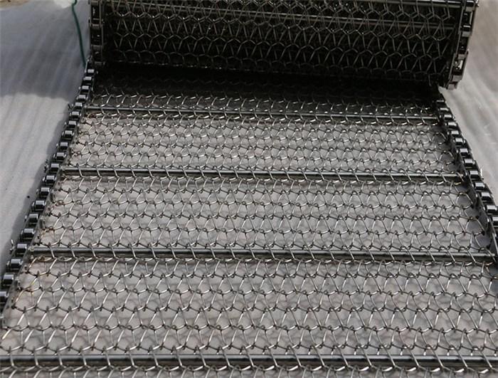 链条网带_不锈钢链条网带定制_不锈钢传动链条网带