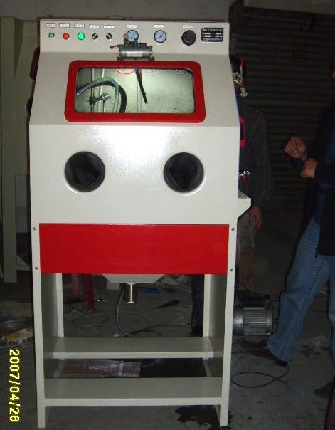 河南自动喷砂机、永海自动化、自动喷砂机直销