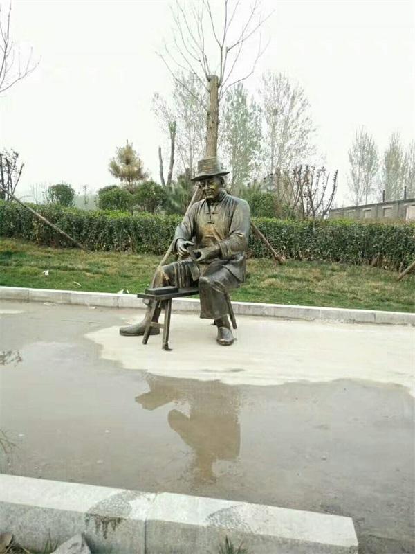 修鞋匠雕塑图片,艺铭雕塑,浙江修鞋匠雕塑