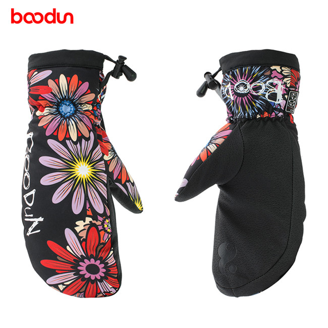 儿童滑雪防水透气保暖运动手套、博顿运动、运动手套