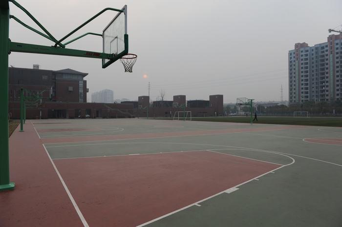 园区休闲篮球场,篮球场,科迈奇体育