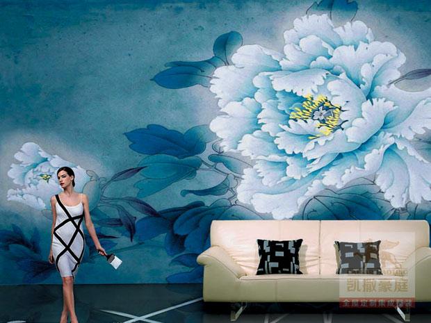 凯撒豪庭集成装饰(图) 玉兰墙纸加盟条件 墙纸加盟