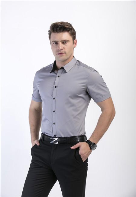 条纹男生衬衫、籁贝林好品质、清远条纹男生衬衫
