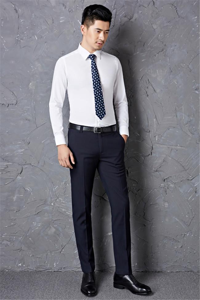 商务休闲西裤厂家,籁贝林(在线咨询),洛阳商务休闲西裤