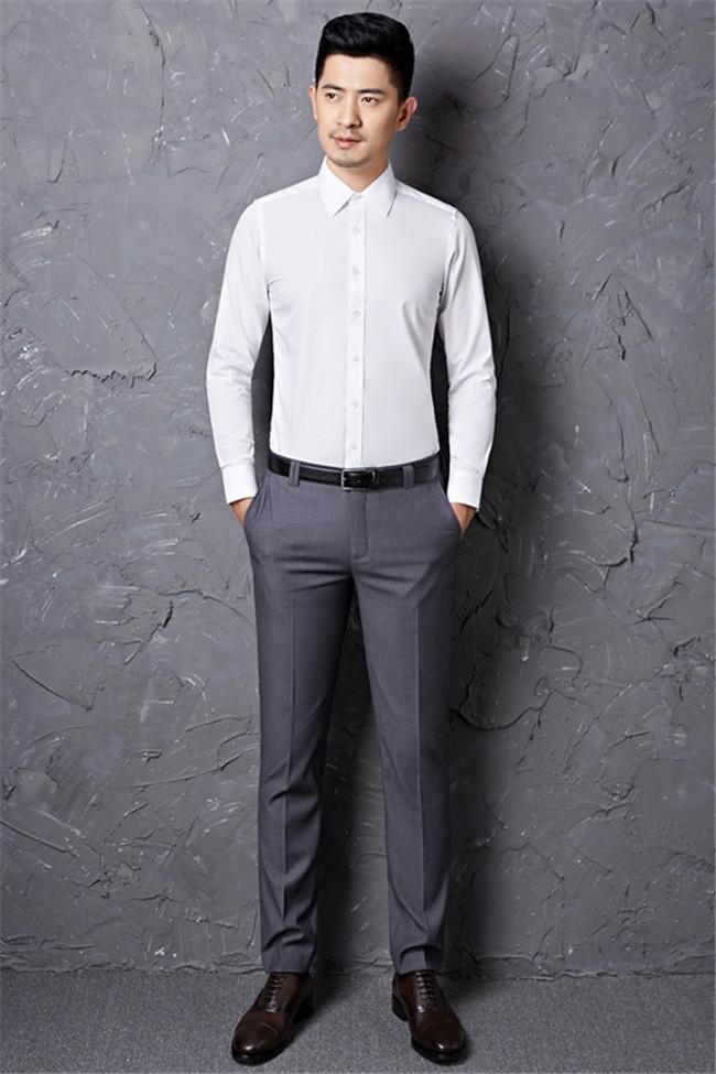 商务休闲西裤一件代发、崇明商务休闲西裤、 籁贝林(查看)