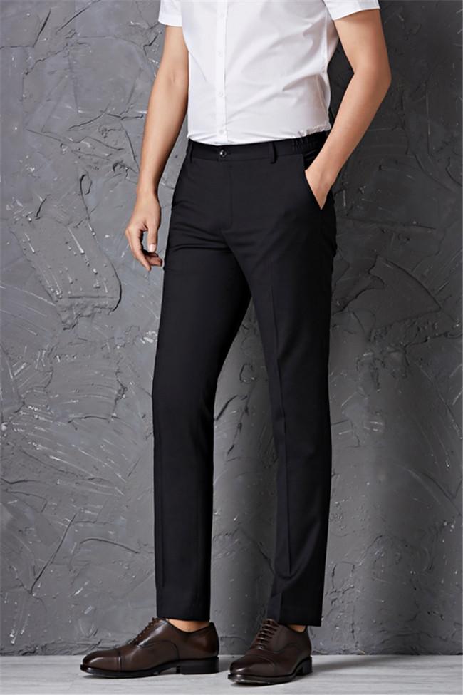 葫芦岛男士修身西裤、 籁贝林生产厂家、商务休闲男士修身西裤