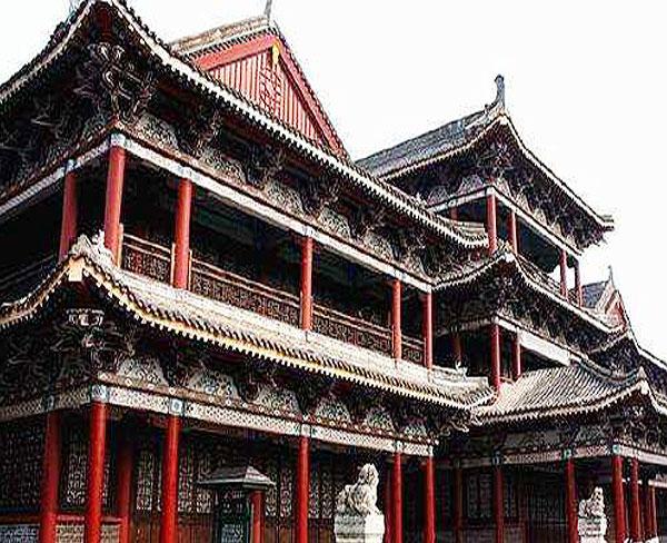 合肥昌林(图)|仿古建筑制作|合肥仿古建筑