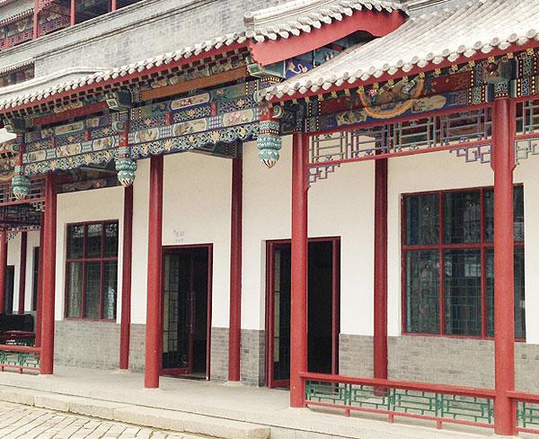 淮南仿古建筑|合肥昌林|仿古建筑四合院