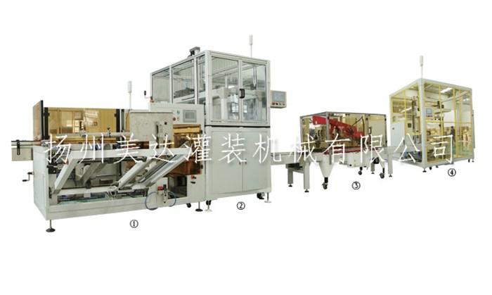 全自动理瓶机生产厂家_美达灌装机械(在线咨询)_理瓶机