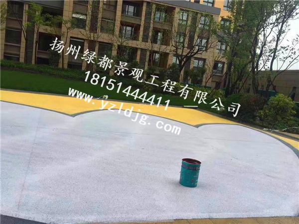 透水混凝土_扬州绿都景观_扬州透水混凝土