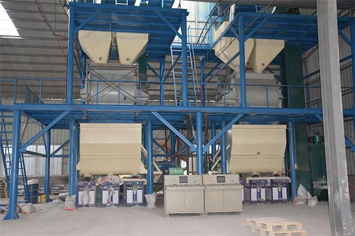 干粉混合设备配置,岳首机械,干粉混合设备