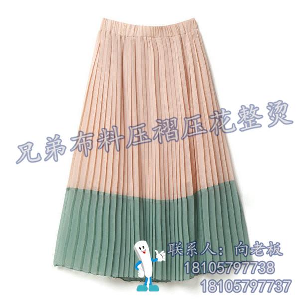 鸿彩布料值得推荐(图)|压褶百褶裙|压褶